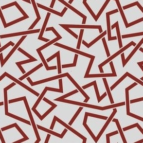Weaving Chaos (Red/Gray)