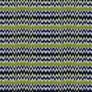 marbled zigzag stripe