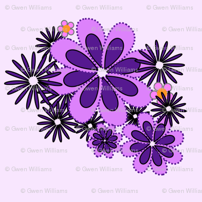 purple flowers 3