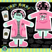 ZOMBIE MOMMY needs her coffee