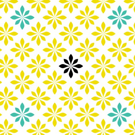 Rrrretro_flowers_yellow_and_torquoise_shop_preview