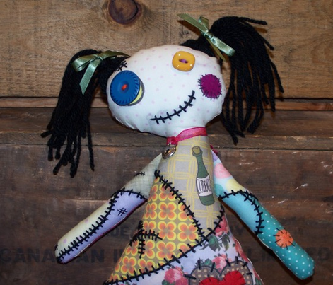 Very Voodoo Zombie Doll