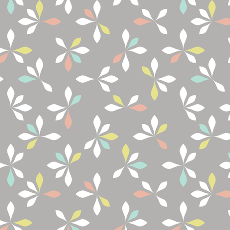 loves me loves me not - pastels fabric by ravynka on Spoonflower - custom fabric