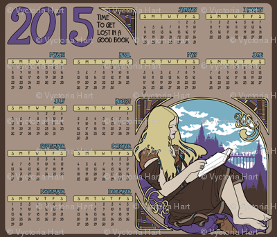 2015 Books Calendar