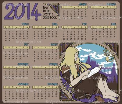 2014 Books Calendar