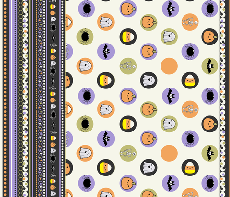 HalloweenTreats fabric by jpdesigns on Spoonflower - custom fabric