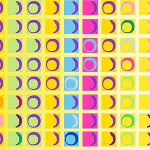 large notebook postit note pattern