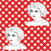 Audrey Horne's Gingham