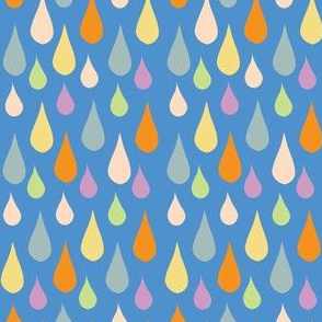 Rain Drop Blue