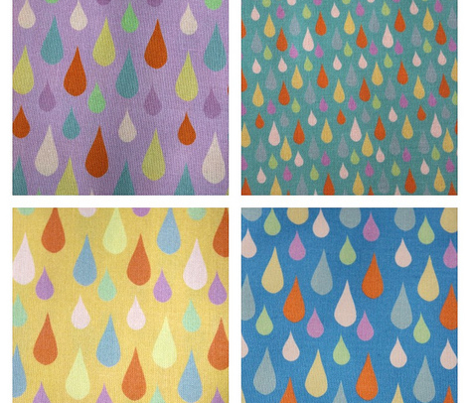 Multi Rain on Lilac
