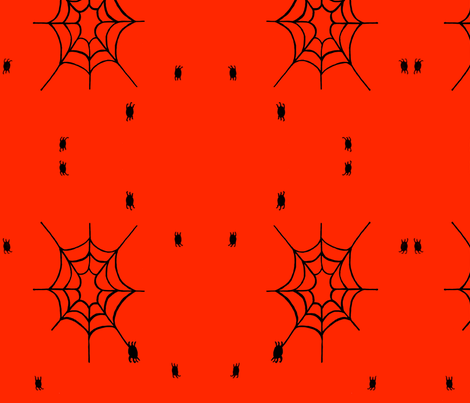 spiderforspoon_-_Version_2 fabric by catcastell on Spoonflower - custom fabric