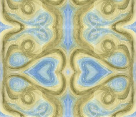 Blue-Green Wonder fabric by katiame on Spoonflower - custom fabric