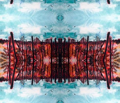 ARTBYLESSnowFlake AZ fabric by artbyles on Spoonflower - custom fabric