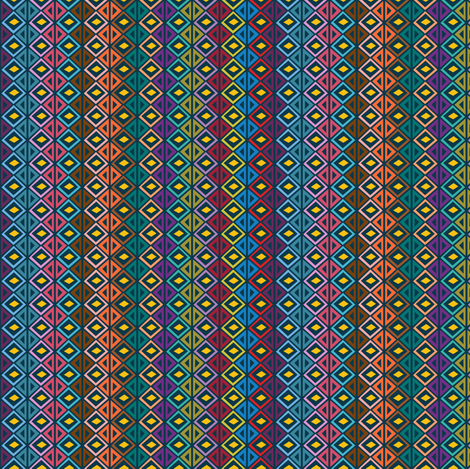 Totem Style 2 fabric by holladaydesigns on Spoonflower - custom fabric