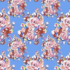 Scandinavian Floral Print
