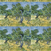 Olive Trees, Van Gogh