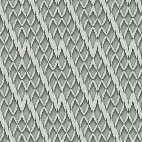 knit zig zag w/ shadow fabric by ravynka on Spoonflower - custom fabric