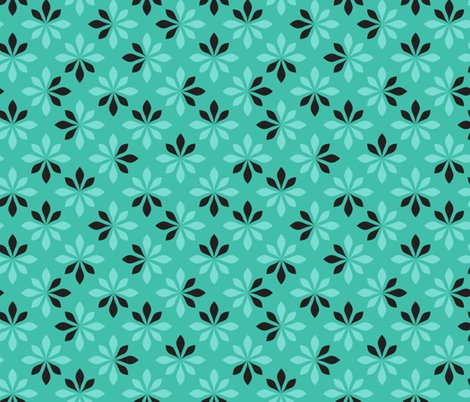 Rrstylized_florals_retro_turquoise_tattered_petals_shop_preview