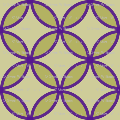 circles diamonds olive eggplant