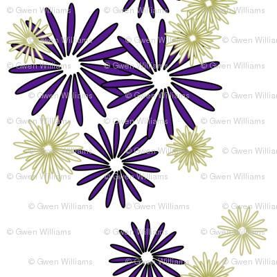 olive eggplant flowers