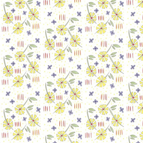Triangle Petal Floral