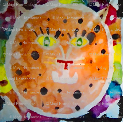 Silk Orange Cat