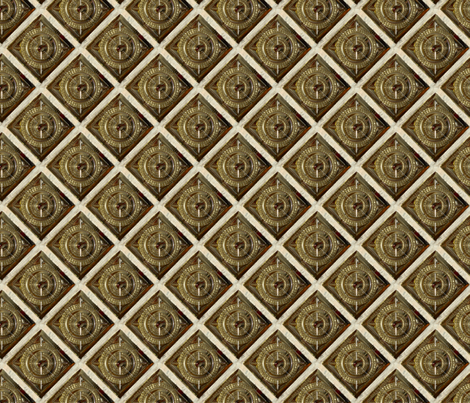 glassbrick fabric by hannafate on Spoonflower - custom fabric