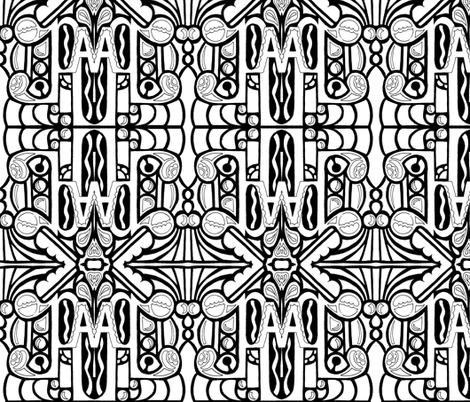 word5 fabric by whimzwhirled on Spoonflower - custom fabric
