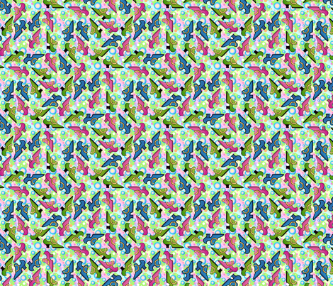 shoes  fabric by hannafate on Spoonflower - custom fabric