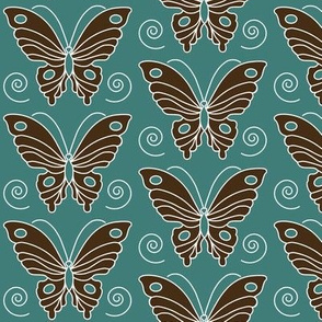 butterfly-2-vector-dk-brown-30-BLUEGREEN-175