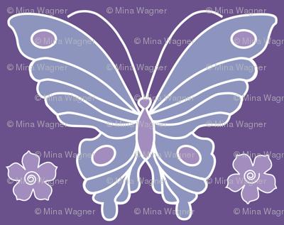 Butterfly-2-vector-NEW-chevreul-DK-PURPLE-265-lilac-264-periwinkle-231-w-flowerss