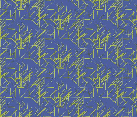 MODERNITY_Galaxy_Konstructivist_Kelly_Peri fabric by izeondesign on Spoonflower - custom fabric