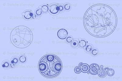 Gallifreyan Pattern