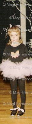 Black Cat in Pick Tutu