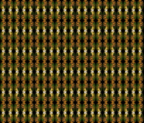 Forest Kaleidoschope  fabric by walkwithmagistudio on Spoonflower - custom fabric