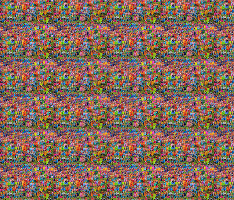 Holi Colors fabric by ceruleana_fiber_arts on Spoonflower - custom fabric