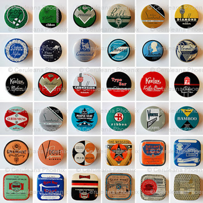Retro Bottle Caps