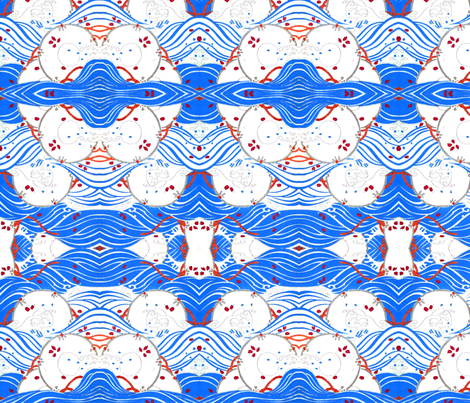 Nautical fabric by quinnanya on Spoonflower - custom fabric
