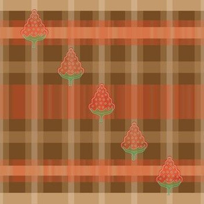 Strawberry Garden Plaid
