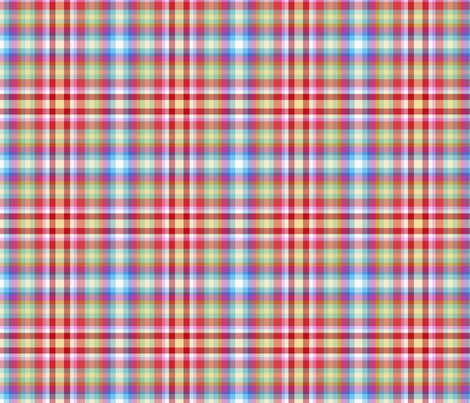 Summer Camp Plaid fabric by peacoquettedesigns on Spoonflower - custom fabric