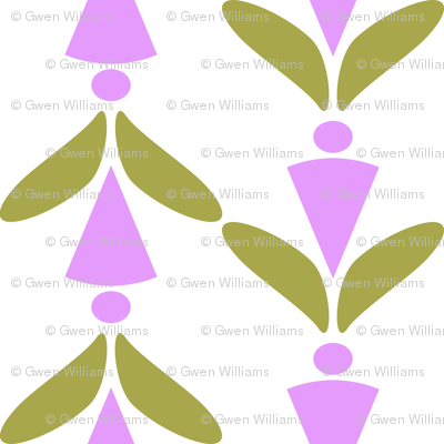 herringbone lavender green 2