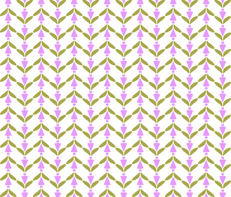 herringbone lavender green 2 fabric by mojiarts on Spoonflower - custom fabric