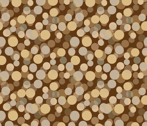dancers coordinate shapes in sepia fabric by kociara on Spoonflower - custom fabric