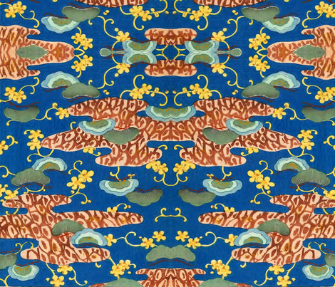 Riverbank fabric by quinnanya on Spoonflower - custom fabric