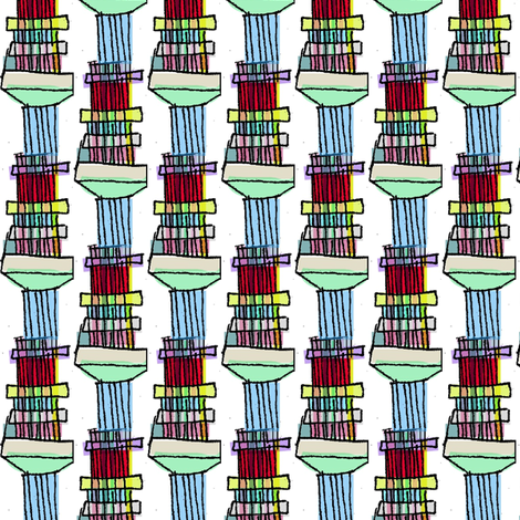 Loom Columns fabric by boris_thumbkin on Spoonflower - custom fabric