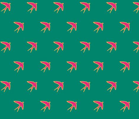 Little_Pinky fabric by prettyhawk on Spoonflower - custom fabric