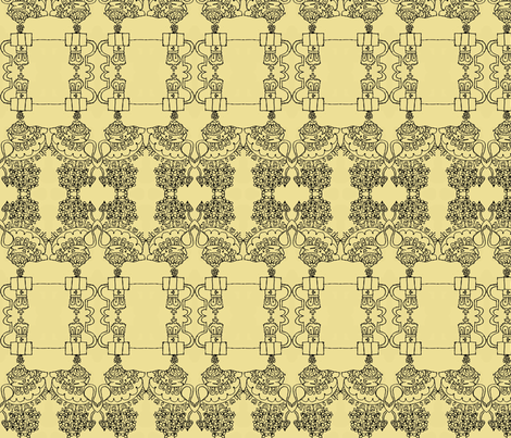 Teatime at the Palace fabric by boris_thumbkin on Spoonflower - custom fabric