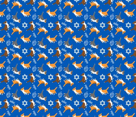 Ditzy seasons - Hanukkah Cardigans