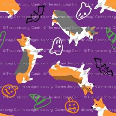 Ditzy seasons - Halloween Pembrokes