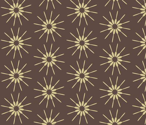 Spoon Brown fabric by designedtoat on Spoonflower - custom fabric